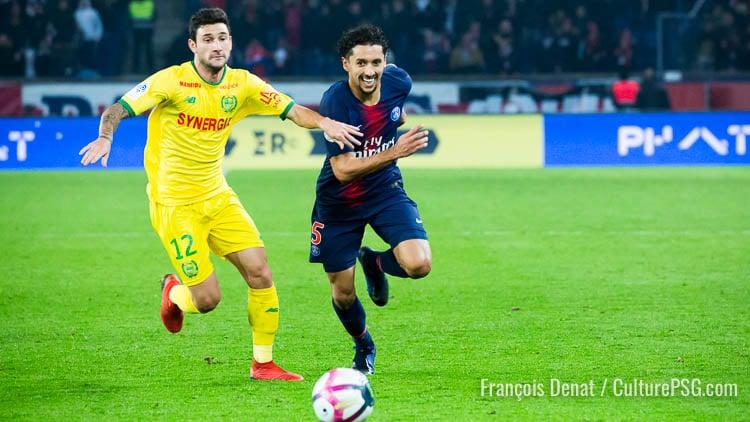 Défaite, Ligue 1, Nantes, PSG