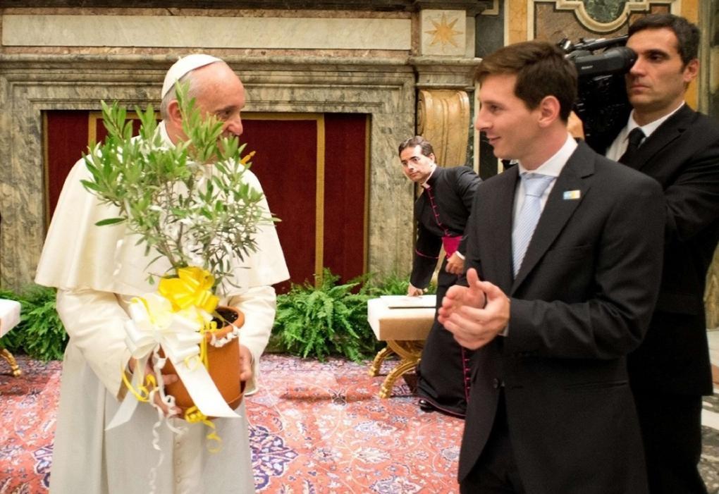 Le pape François sur Lionel Messi :