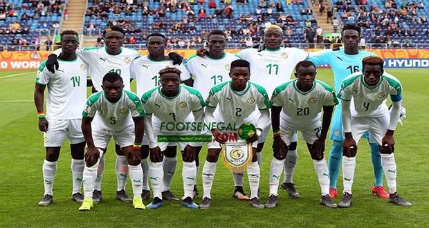 Mondial U20 : Le Sénégal termine premier du groupe A