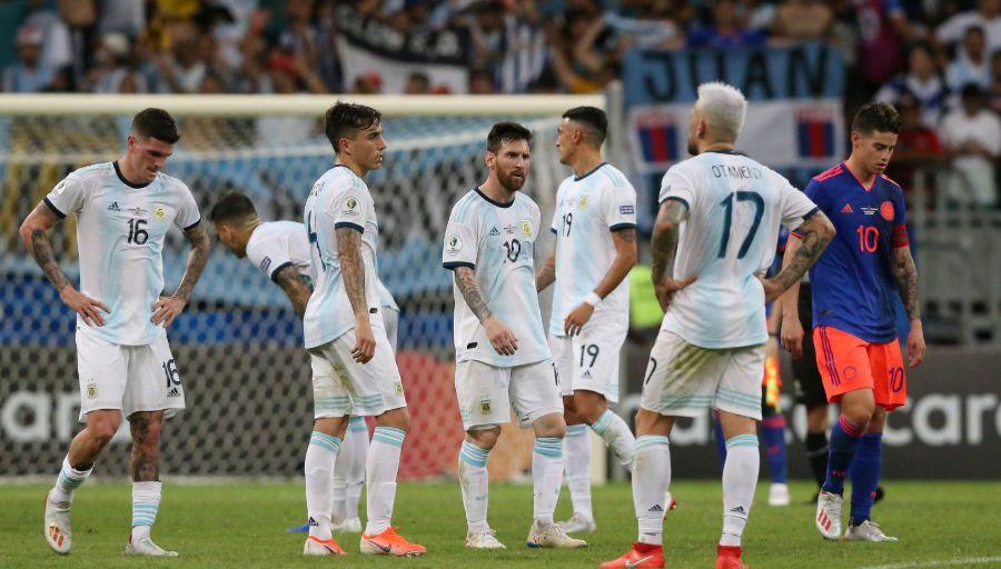 Argentine-defaite