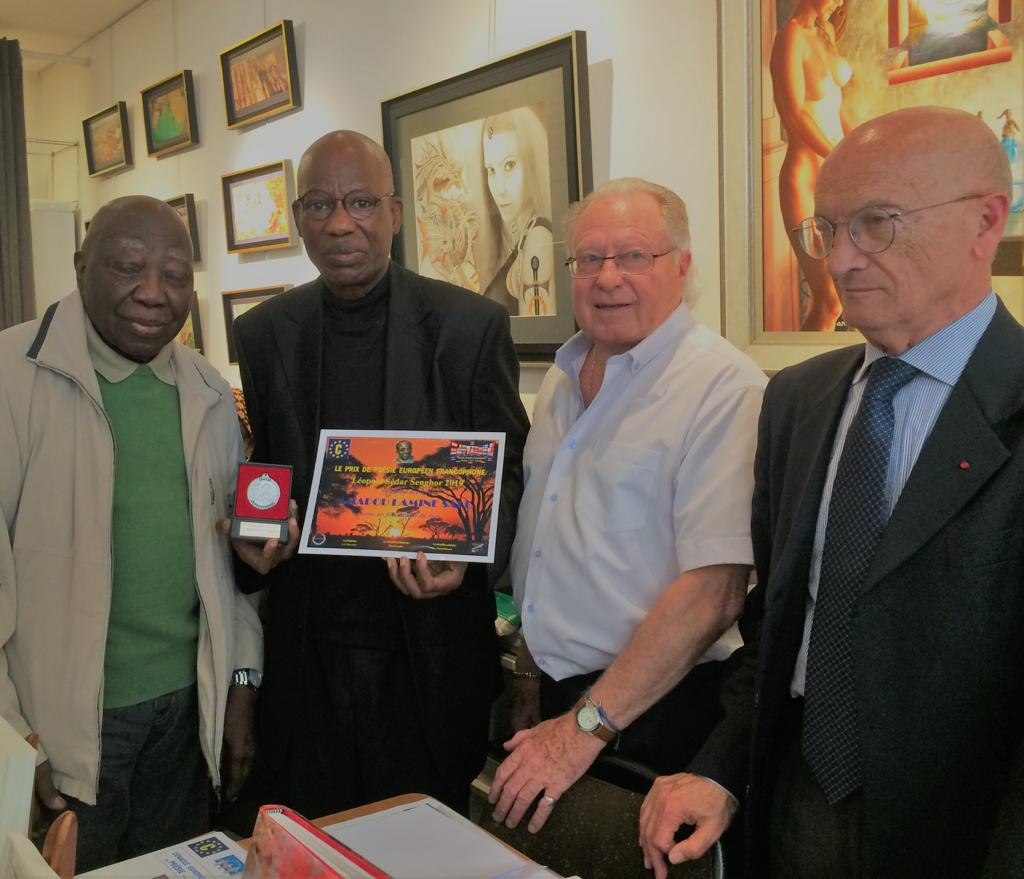 Amadou Lamine Sall Lauréat Du Prix International De Poésie
