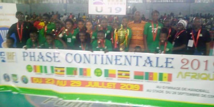 les lionnes u20 championnes d'afrique de handball