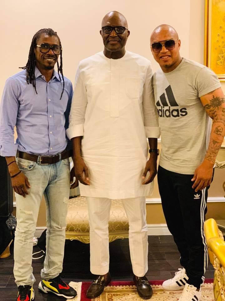67778724 2348293408617085 5481295773494673408 n - Babacar Ngom réunit Diouf et Aliou Cissé autour d'une table (photos)