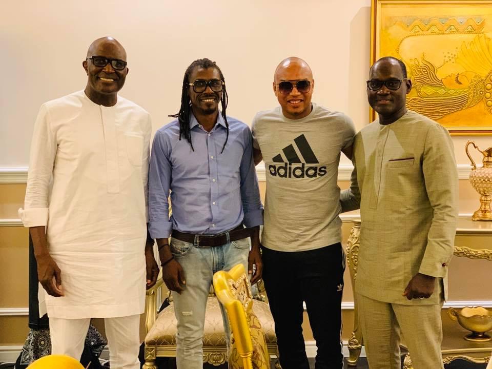 67781833 2348293621950397 7963174717483909120 n - Babacar Ngom réunit Diouf et Aliou Cissé autour d'une table (photos)