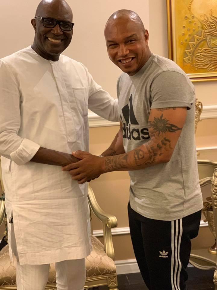 68744031 2348293401950419 846642683739897856 n - Babacar Ngom réunit Diouf et Aliou Cissé autour d'une table (photos)
