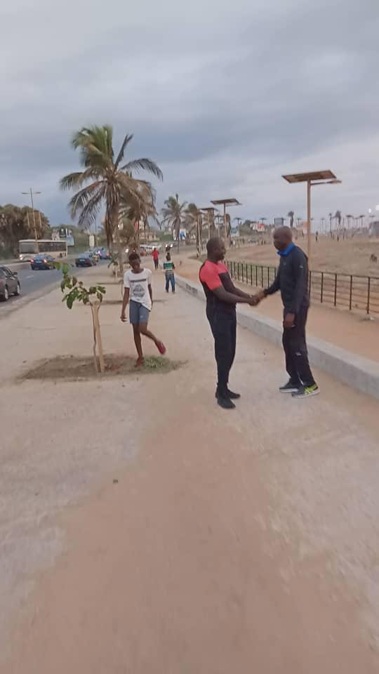 aly sport 3 - Le Ministre de l'intérieur filmé en train de faire son jogging sur...