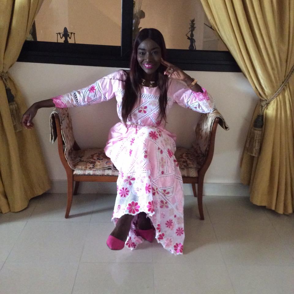 coumba 1 - Tabaski des stars : Coumba Gawlo très chic avec sa robe rose