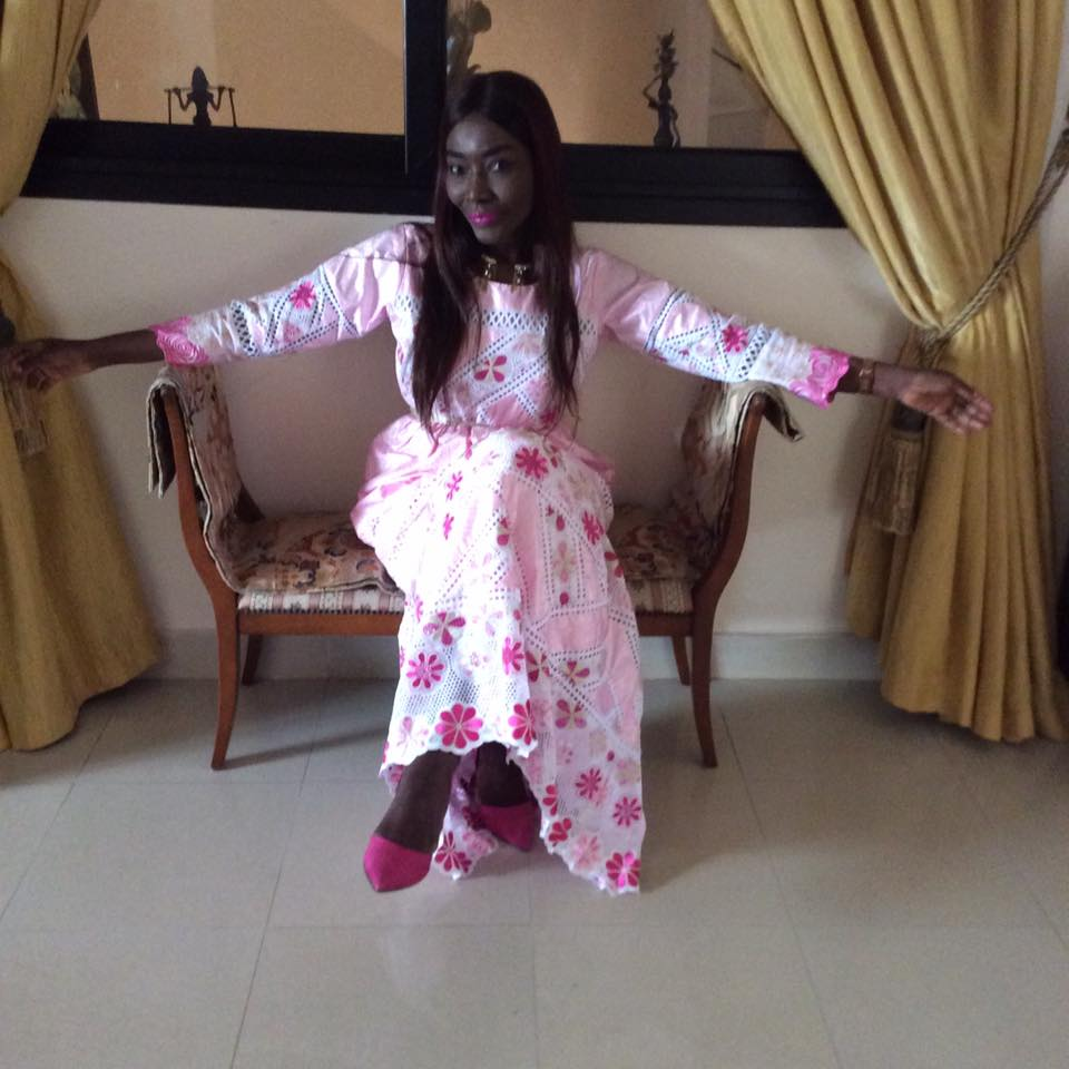 coumba 2 - Tabaski des stars : Coumba Gawlo très chic avec sa robe rose