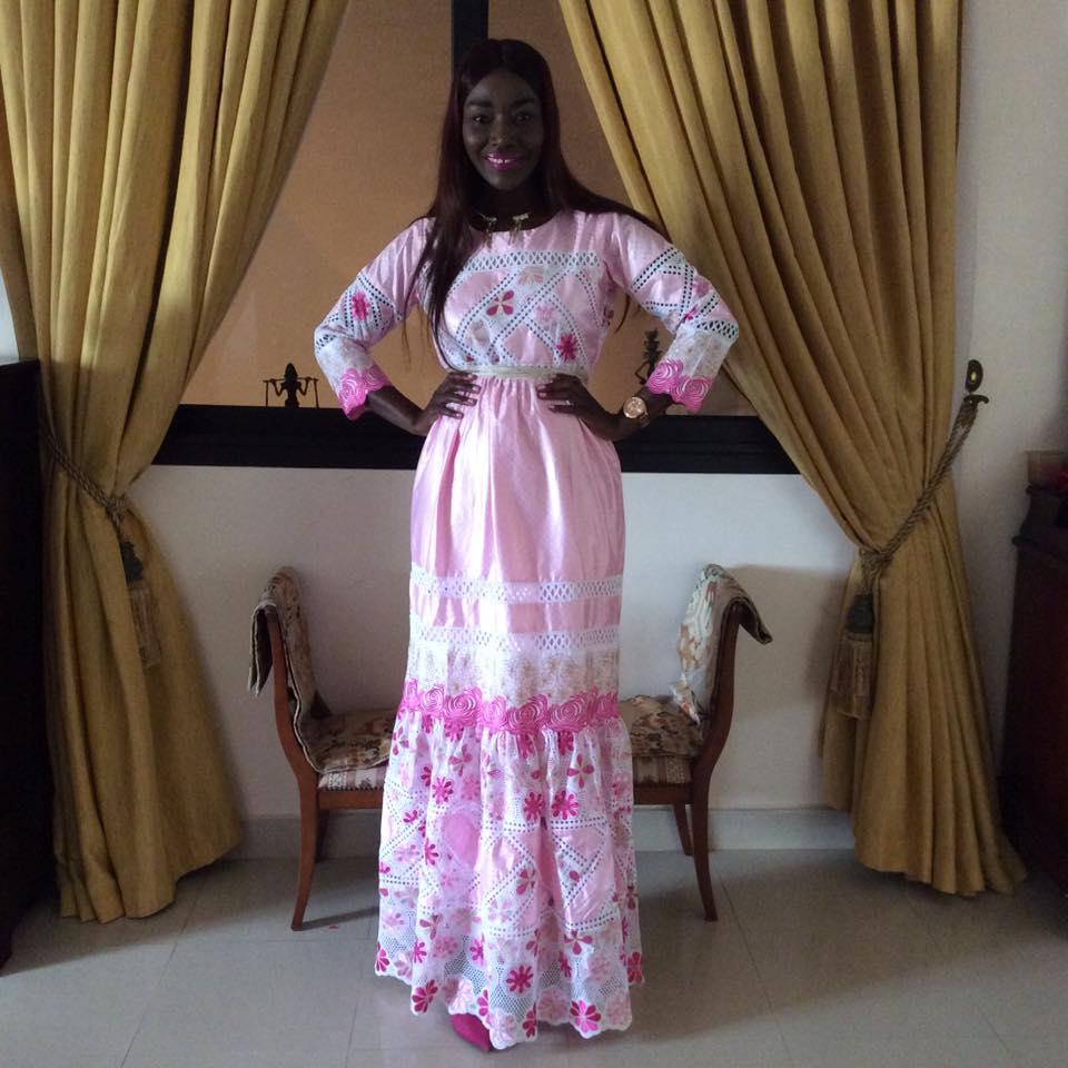 coumba 3 - Tabaski des stars : Coumba Gawlo très chic avec sa robe rose