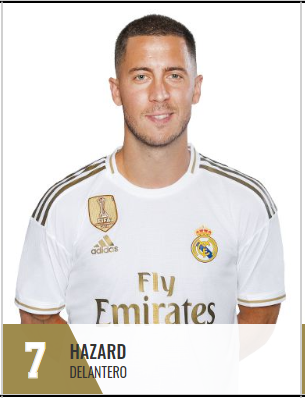 eefefefe - Real Madrid : Eden Hazard récupère le numéro 7 !