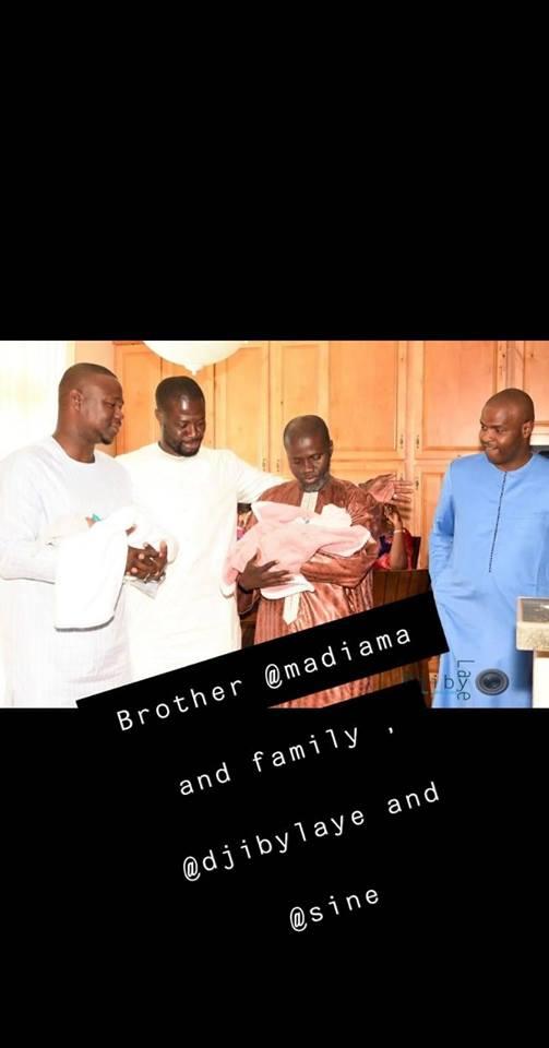 fata 2 - Carnet Rose : Baptême des jumeaux Alé et Mame Ndiaye du rappeur Fata