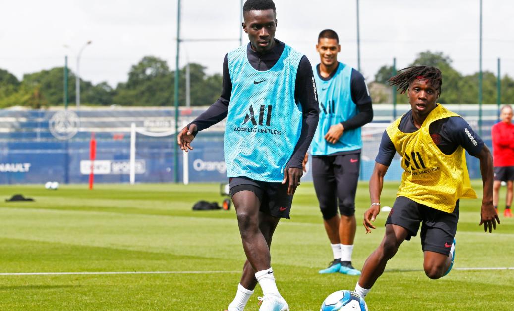 gueye 2 - PSG: La première Séance d'entrainement de Gana Gueye (photos)