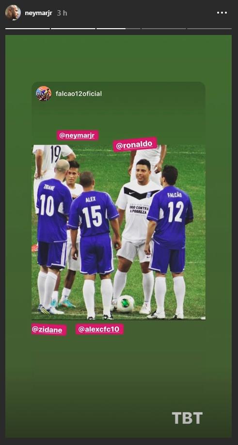 neyinsta 1a82c - Mercato: Neymar fait les yeux doux à Zidane et au Real Madrid