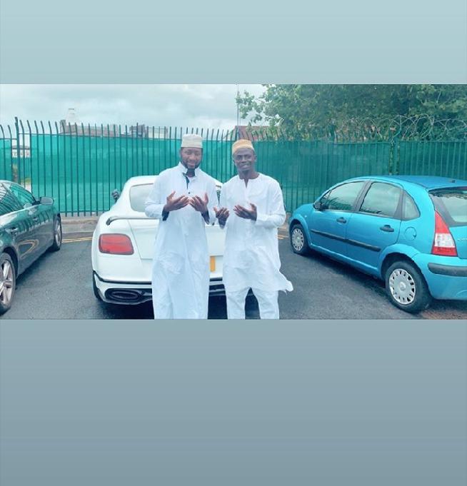 screenshot 20190812 123034 1565613116662 - Tabaski des Lions : Sadio Mané et Koulibaly dévoilent leurs belles tenues
