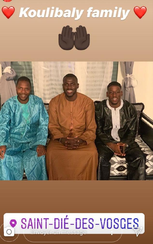 screenshot 20190812 124013 1565613675971 - Tabaski des Lions : Sadio Mané et Koulibaly dévoilent leurs belles tenues