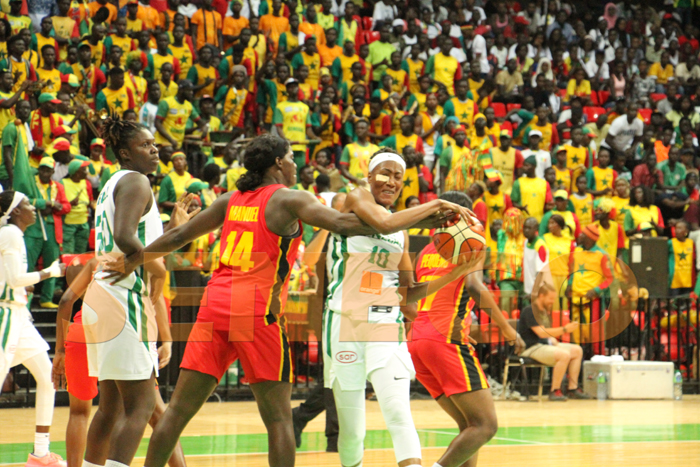 senegal vs angola fiba 2019 36 - (50 photos) - Afrobasket 2019: Revivez le match Sénégal vs Angola en images