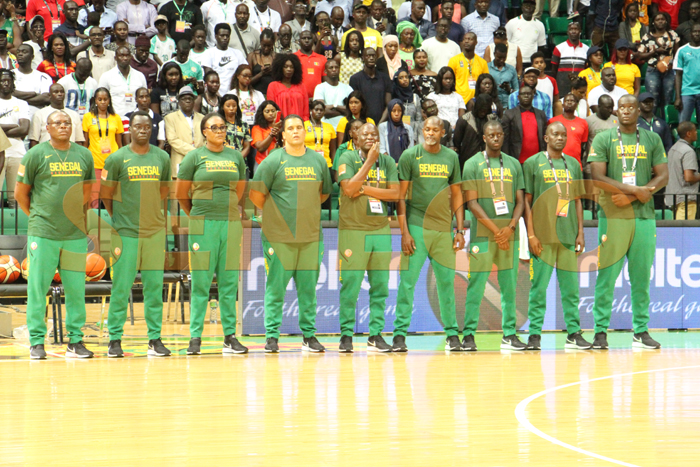 senegal vs angola fiba 2019 4 - (50 photos) - Afrobasket 2019: Revivez le match Sénégal vs Angola en images