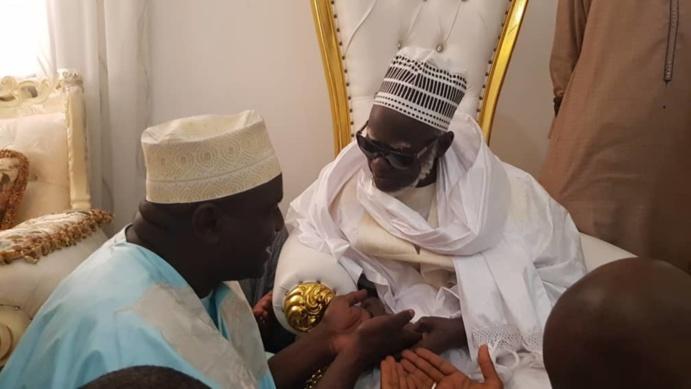 37624942 33156254 - L'engagement de Serigne Cheikh Oumar Sy devant Serigne Mountakha (photos)
