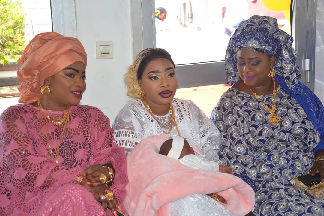 img 20190910 wa0076 - Des célébrités au baptême de la fille de Mbacké Dioum (Photos)
