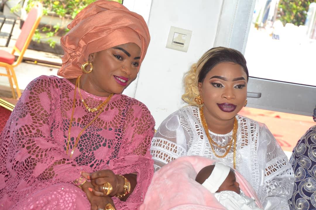 img 20190910 wa0077 - Des célébrités au baptême de la fille de Mbacké Dioum (Photos)
