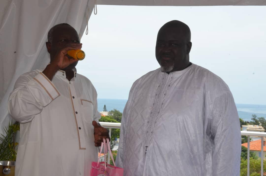 img 20190910 wa0099 - Des célébrités au baptême de la fille de Mbacké Dioum (Photos)