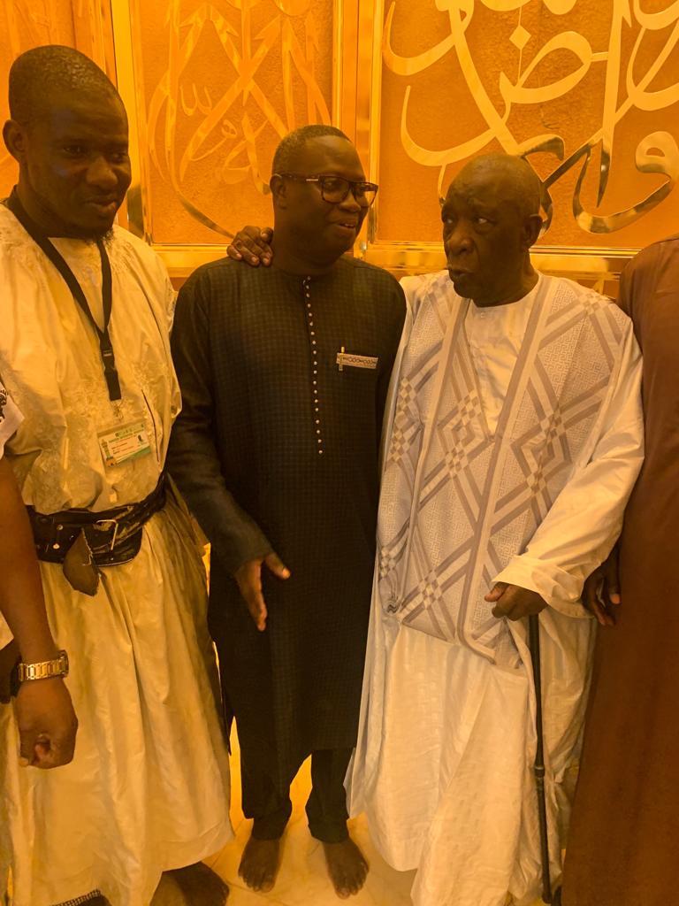 mansour mbaye 2 - Massalikoul Jinaan : Mansour Mbaye s'émerveille devant le bijou