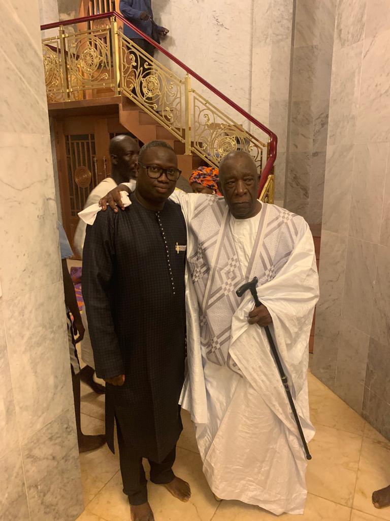 mansour mbaye 7 - Massalikoul Jinaan : Mansour Mbaye s'émerveille devant le bijou