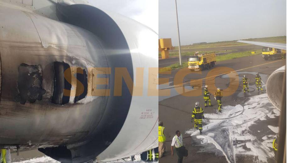 crash aibd senego - AIBD : Le crash d'un Boeing Ethiopian Airlines évité de justesse