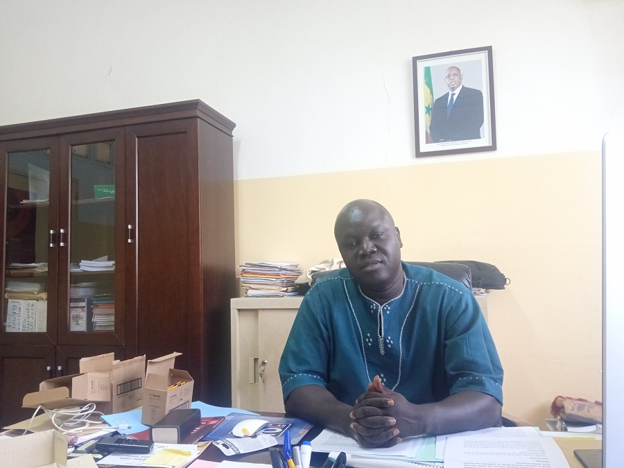 Mamadou Ndiaye- Cesti