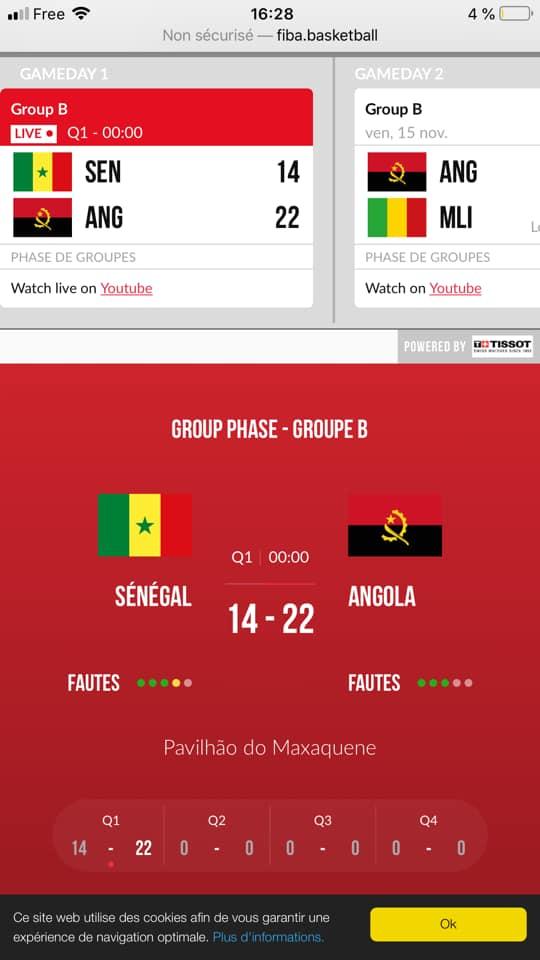 1 1 - TQO : Les Lionnes domptent les Angolaises (75 à 71)