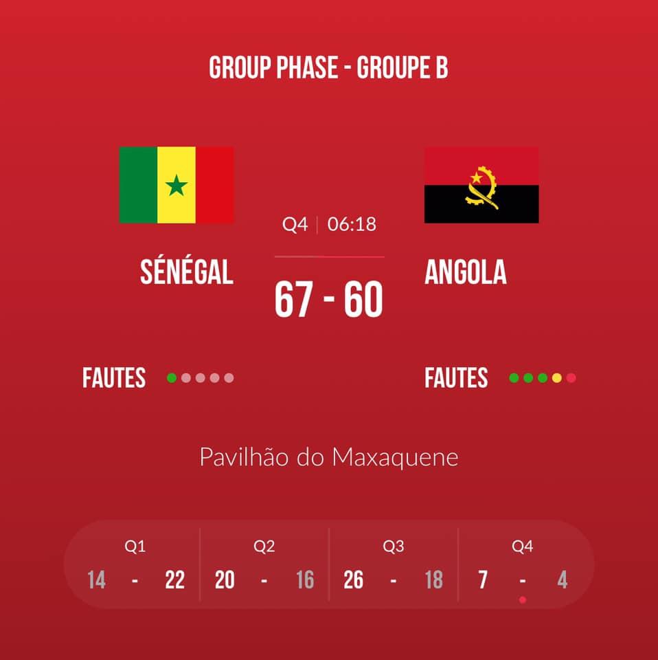 4 1 - TQO : Les Lionnes domptent les Angolaises (75 à 71)