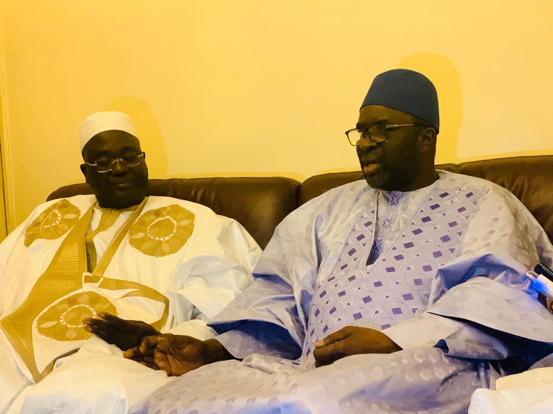 cisse lo tivaouane 9 - Gamou : Cissé Lo rend visite à la famille de Seydi El Hadji Malick Sy…