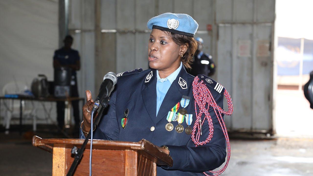 unnamed file 2 - ONU : Le major Seynabou Diouf, officier de police de l'année (Vidéo)