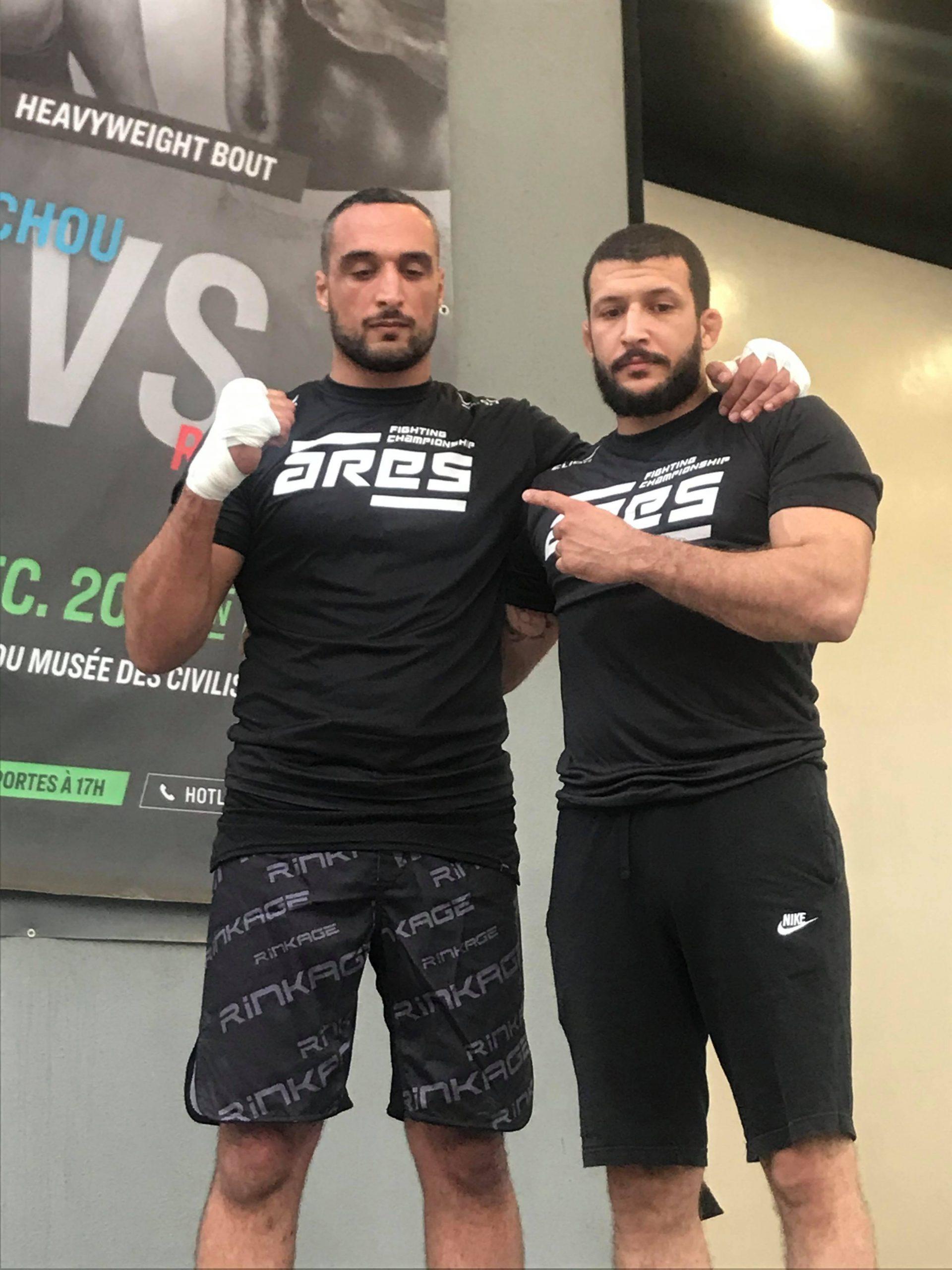 79540150 1413477248801647 5835274887698055168 n scaled - MMA : Reug Reug et son adversaire Sofiane, présentés au public (13 Photos)