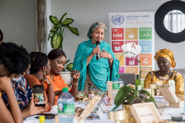 cese 3 e1575232152957 - Déjeuner de travail Aminata Touré (CESE) Aminata Mohamed (Nations Unis)
