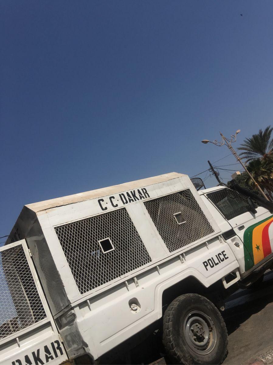 dakar securite 1 - Manifestations de « Ñoo Lank » : Dakar sous haute surveillance (Photos)
