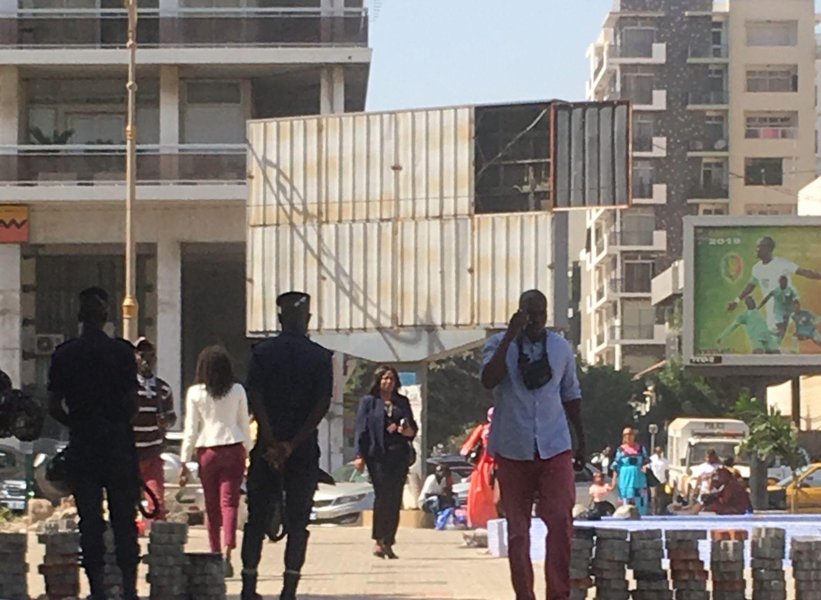 dakar securite 5 - Manifestations de « Ñoo Lank » : Dakar sous haute surveillance (Photos)
