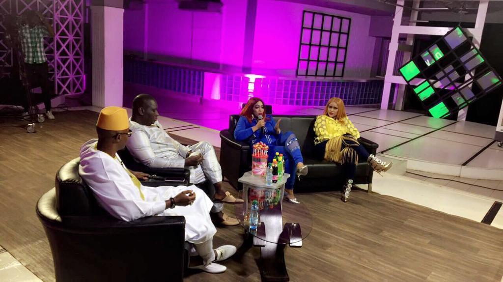 guigui 4 - Guigui et Oumou Sow enflamment le plateau de Salam Diallo