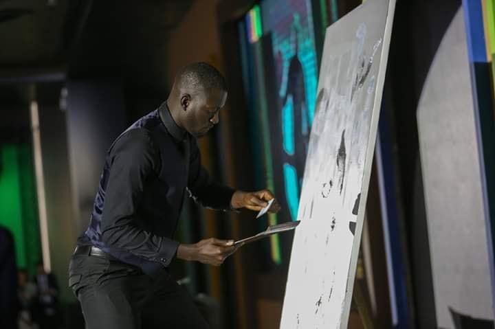 macky 1 - Boubou Design fait le portrait de Macky Sall