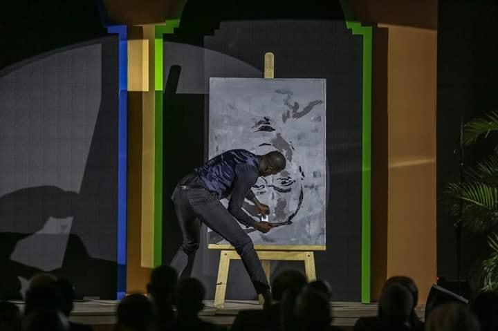 macky 3 - Boubou Design fait le portrait de Macky Sall