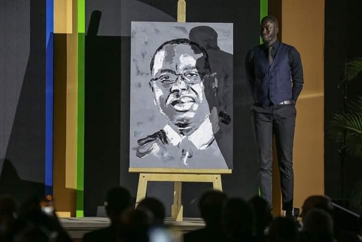 macky - Boubou Design fait le portrait de Macky Sall
