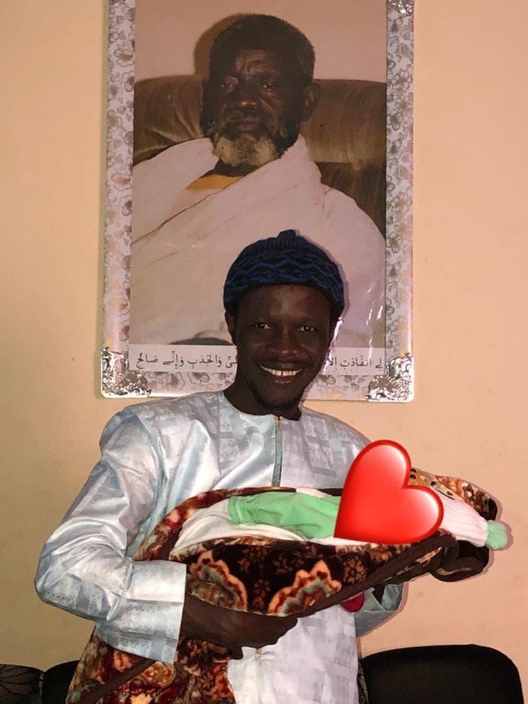 alassane 1 - Ndeye Ndiaye et Alassane de Mbettel baptisent leur fils Serigne Saliou