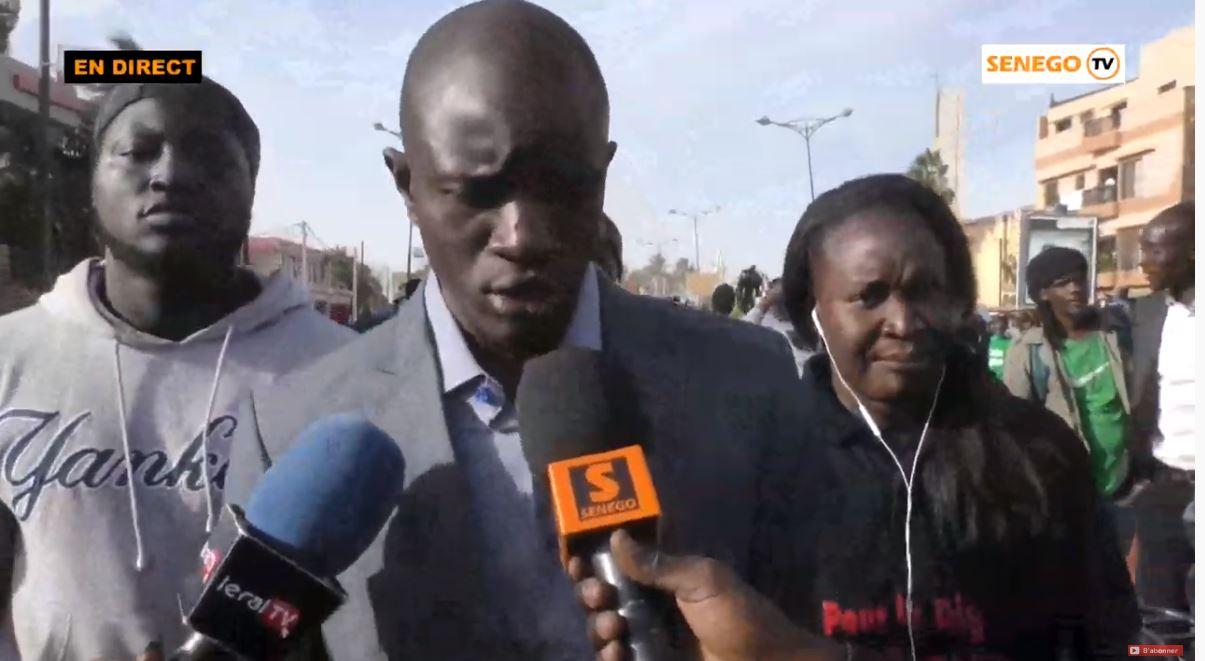 Dr Babacar Diop  : «Si Macky ne recule pas, on va marcher sur le Palais»
