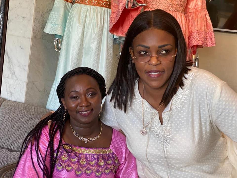 mareme faye sall et la premiere dame bissau guineenne - Arrêt sur Image : La première dame Bissau-guinéenne rend visite à M. F Sall