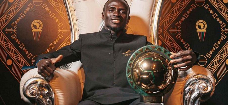 Sadio Mané roi de l'afrique