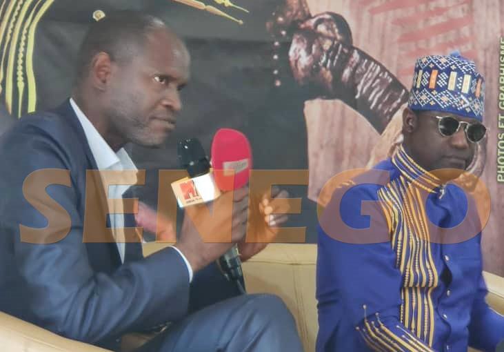 Issa Ndiaye et la Ville de Dakar honore Joe Ouakam