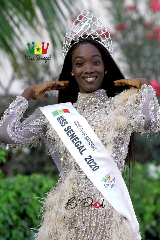 Fatma Dione, Miss Sénégal 2020, élégante à tout point de vue ...