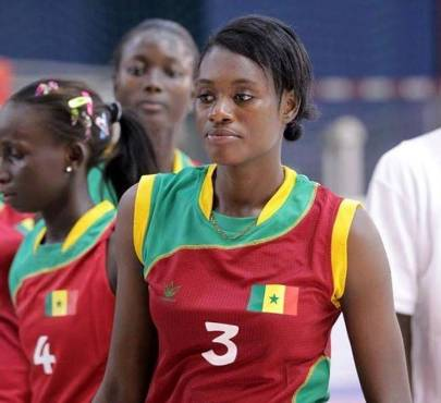 Binetou Sow-Diop volleyeuse