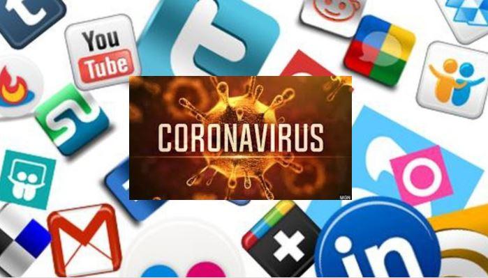 coronavirus reseaux sociaux