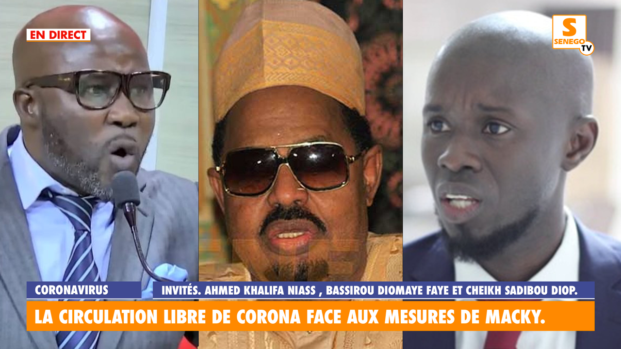ahmed khalifa niass, diomaye faye et cheikh sadibou diop